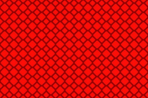 Red Seamless Rounded Square Grid Pattern Graphic Patterns By davidzydd