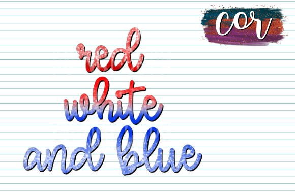 Download Free Red White And Blue Graphic By Designscor Creative Fabrica for Cricut Explore, Silhouette and other cutting machines.