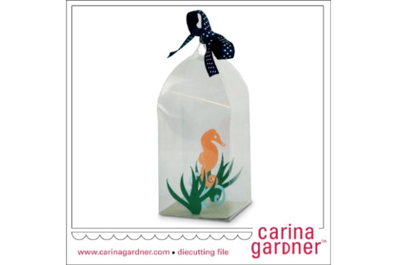 Download Free Seahorse In A Bottle Graphic By Carina2 Creative Fabrica for Cricut Explore, Silhouette and other cutting machines.