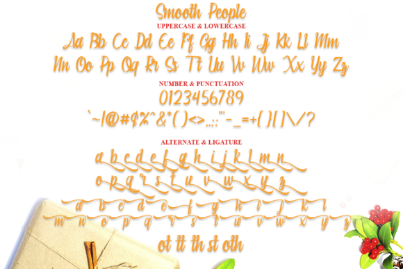 Print on Demand: Smooth People Child Script & Handwritten Font By ONE DESIGN - Image 4
