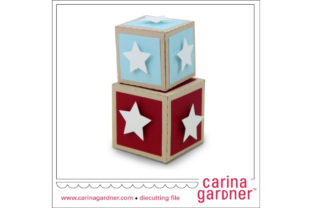 Star Box Set Graphic 3D SVG By carina2