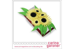Sunflower Candy Bar Bouquet Graphic 3D SVG By carina2