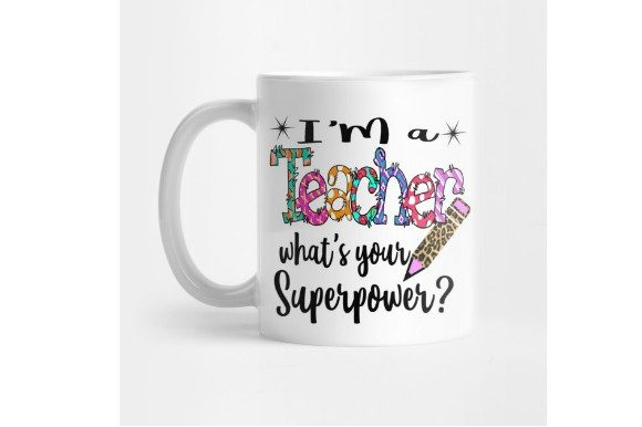 Teacher Sublimation Template Graphic Print Templates By aarcee0027 - Image 2
