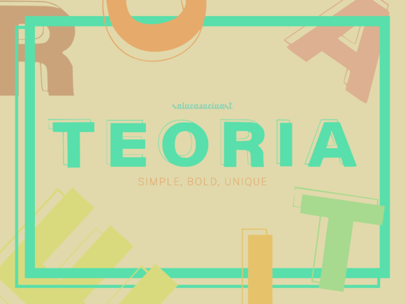 Download Free Teoria Font By Ralucasuciuart Creative Fabrica for Cricut Explore, Silhouette and other cutting machines.