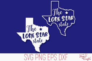 Print on Demand: Texas Cut File - the Lone Star State Graphic Crafts By Anastasia Feya