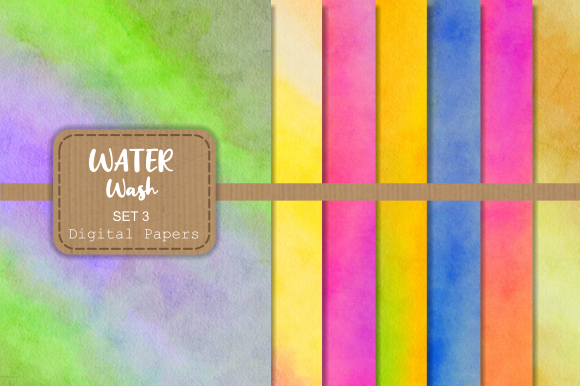 Download Free Textured Watercolor Wash Digital Papers Graphic By Prawny for Cricut Explore, Silhouette and other cutting machines.