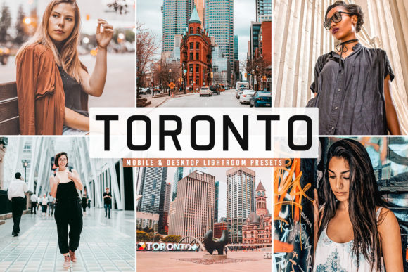 Print on Demand: Toronto Pro Lightroom Preses Pack Graphic Actions & Presets By Creative Tacos