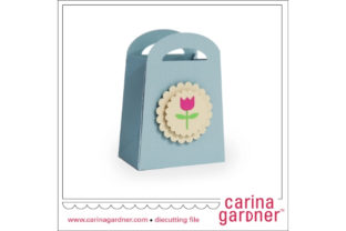 Tulip Favor Bag Graphic 3D SVG By carina2
