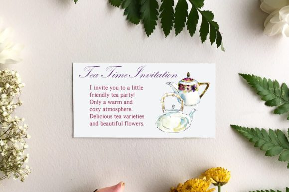 Download Free Watercolor Vintage Teapots Graphic By Mariya Kutuzova Creative for Cricut Explore, Silhouette and other cutting machines.