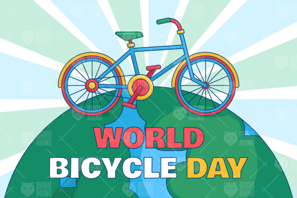 Download Free World Bicycle Day Illustrations Set Graphic By Barsrsind SVG Cut Files