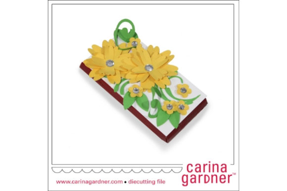 Yellow Candy Bar Bouquet Graphic