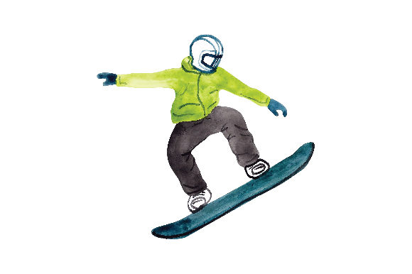 Download Free Snowboarder Svg Cut File By Creative Fabrica Crafts Creative for Cricut Explore, Silhouette and other cutting machines.