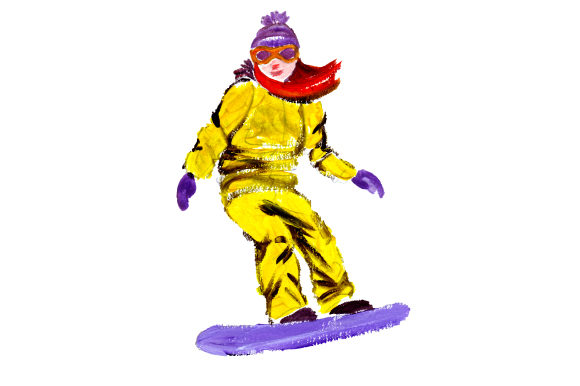 Snowboarder Hobbies Craft Cut File By Creative Fabrica Crafts