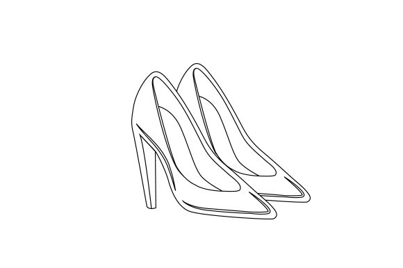 High Heels Beauty & Fashion Craft Cut File By Creative Fabrica Crafts - Image 2