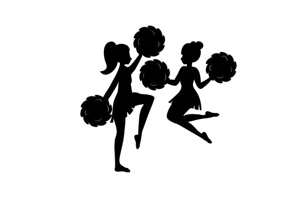Download Free Cheerleaders Svg Cut File By Creative Fabrica Crafts Creative for Cricut Explore, Silhouette and other cutting machines.