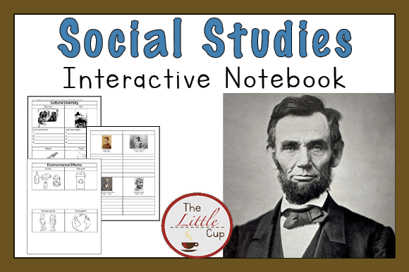 2nd Grade Social Studies Notebook Graphic Teaching Materials By marie9 - Image 1