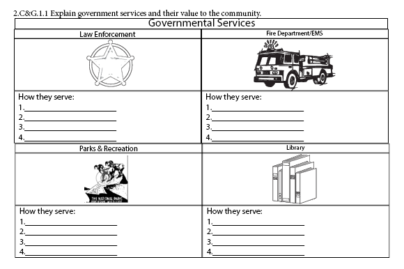 2nd Grade Social Studies Notebook Graphic Teaching Materials By marie9 - Image 3