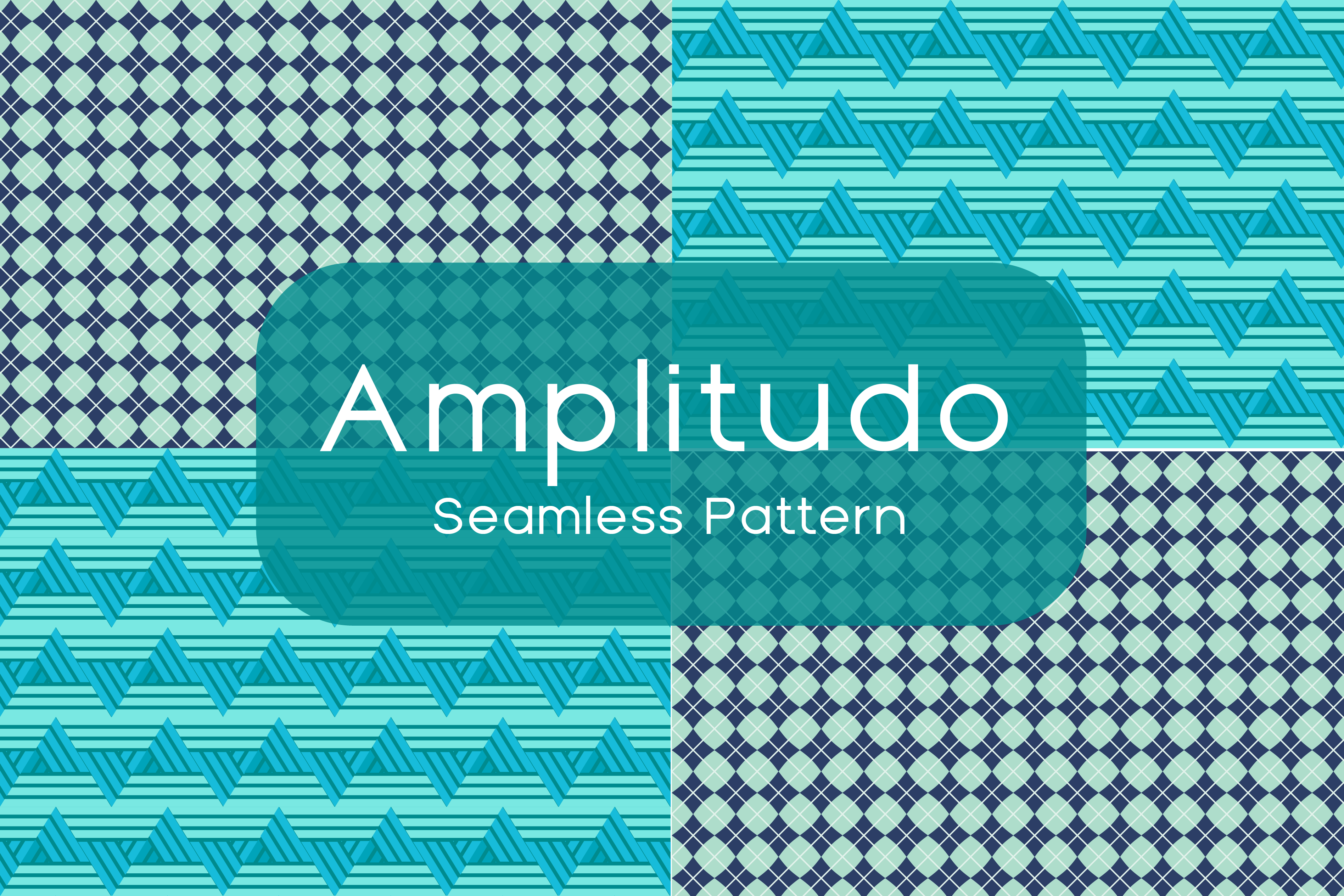 Download Free Amplitudo Seamless Pattern Graphic By Dedisain Creative Fabrica for Cricut Explore, Silhouette and other cutting machines.