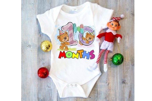 Baby Milestone Sublimation Template Graphic Print Templates By aarcee0027 - Image 3