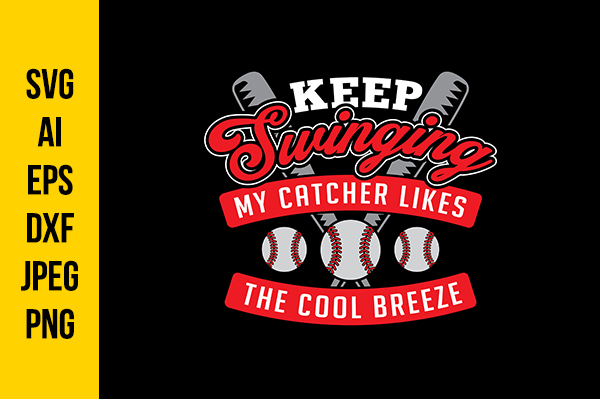 Download Free Baseball For Cricut Graphic By Tosca Digital Creative Fabrica for Cricut Explore, Silhouette and other cutting machines.
