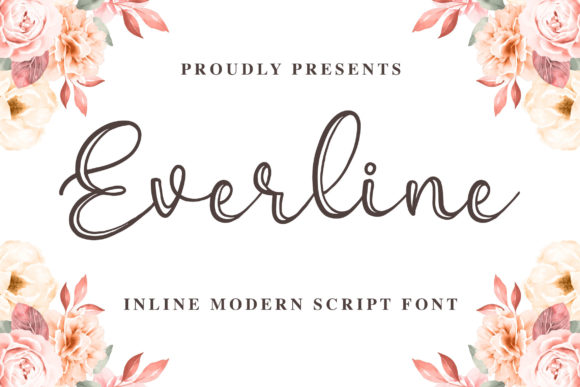 Print on Demand: Everline Script & Handwritten Font By Blankids Studio