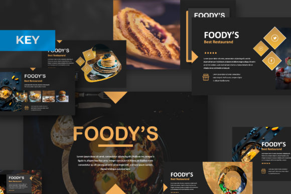 Download Free Foody Creative Keynote Graphic By Temp Here Creative Fabrica for Cricut Explore, Silhouette and other cutting machines.