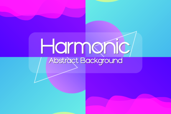 Harmonic Abstract Background Graphic Backgrounds By dedisain