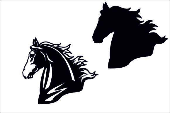Horse Head Graphic By Fast Store Creative Fabrica