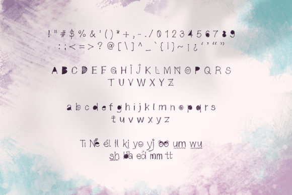 Print on Demand: Kookoshka Script & Handwritten Font By DIGI Potwor - Image 3