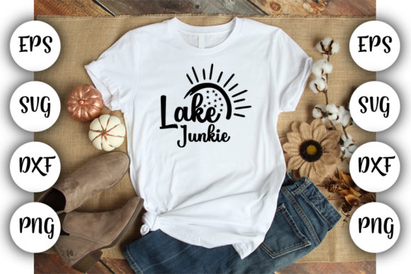 Download Free Lake Junkie Graphic By Design Store Creative Fabrica for Cricut Explore, Silhouette and other cutting machines.