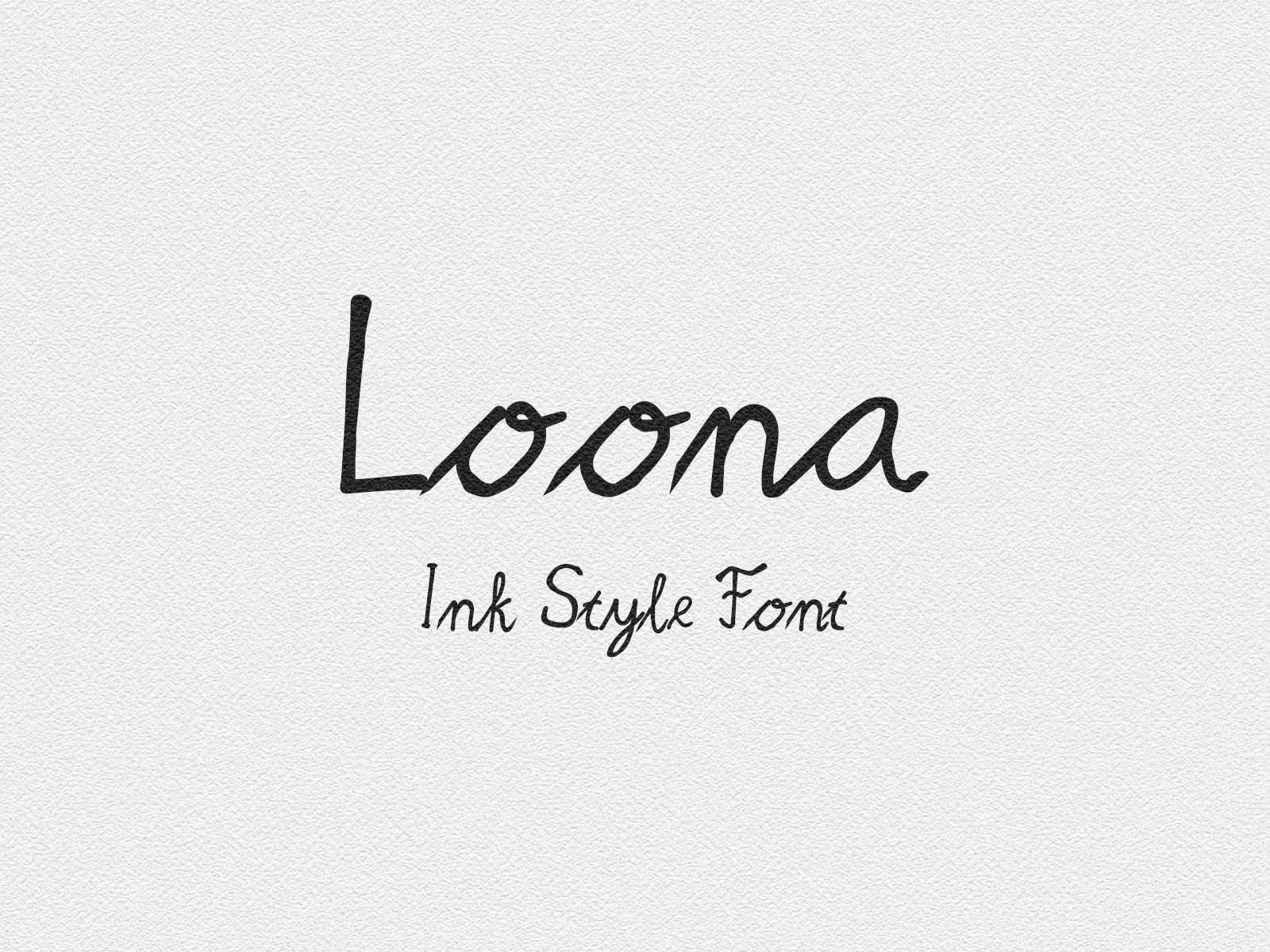 Download Free Loona Font By Rizqfirdisjahril Creative Fabrica for Cricut Explore, Silhouette and other cutting machines.