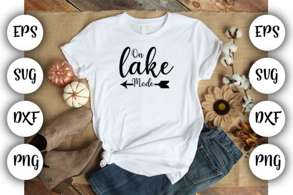 Download Free On Lake Mode Svg Dxf Pdf Png Graphic By Design Store Creative for Cricut Explore, Silhouette and other cutting machines.