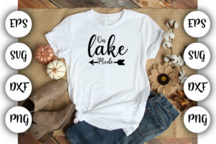 Download Free On Lake Mode Graphic By Design Store Creative Fabrica SVG Cut Files