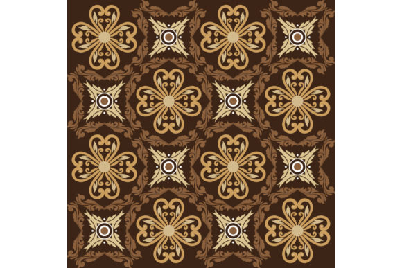 Parang Batik Design with Simple Graphic Backgrounds By cityvector91