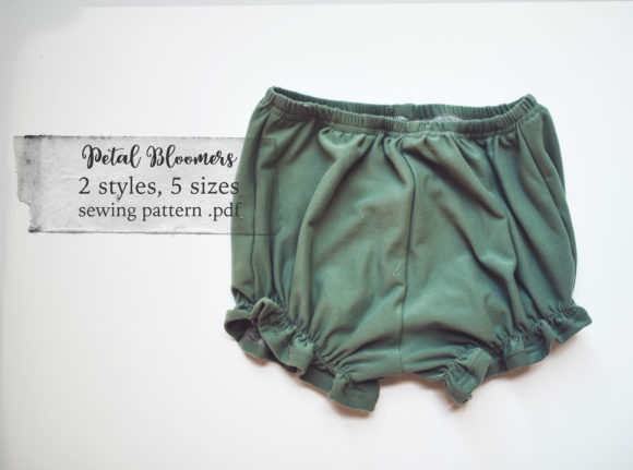 Petal Bloomers Sewing Pattern Graphic Needle Arts By Sweet Mama Makes