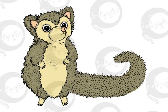 Possums Graphic Illustrations By Jen Digital Art - Image 2