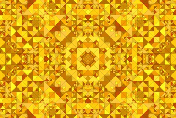 Download Free Seamless Orange Kaleidoscope Pattern Graphic By Davidzydd for Cricut Explore, Silhouette and other cutting machines.