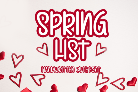 Print on Demand: Spring List Script & Handwritten Font By Inermedia STUDIO
