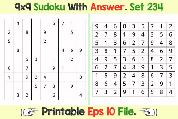 Sudoku 9 X 9 Advance Sudoku Puzzle Games Graphic KDP Interiors By PatternFeed