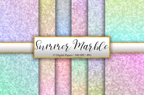 Summer Marble Texture Background Graphic Backgrounds By PinkPearly