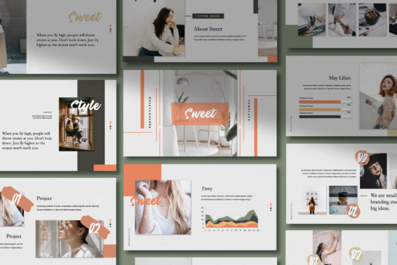 Download Free Sweet Business Google Slide Graphic By Temp Here Creative Fabrica for Cricut Explore, Silhouette and other cutting machines.