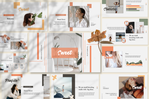 Download Free Sweet Business Powerpoint Graphic By Temp Here Creative Fabrica for Cricut Explore, Silhouette and other cutting machines.