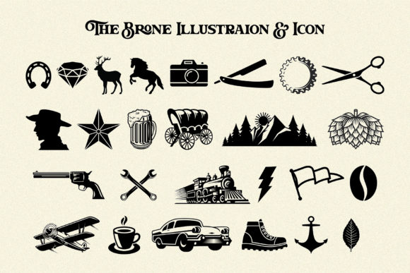 Print on Demand: The Brone Serif Font By Ngene - Image 11