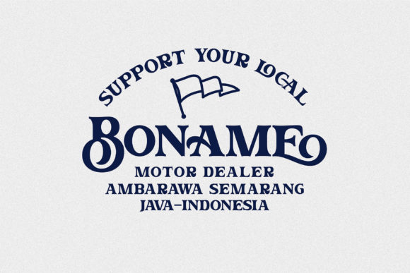 Print on Demand: The Brone Serif Font By Ngene - Image 9
