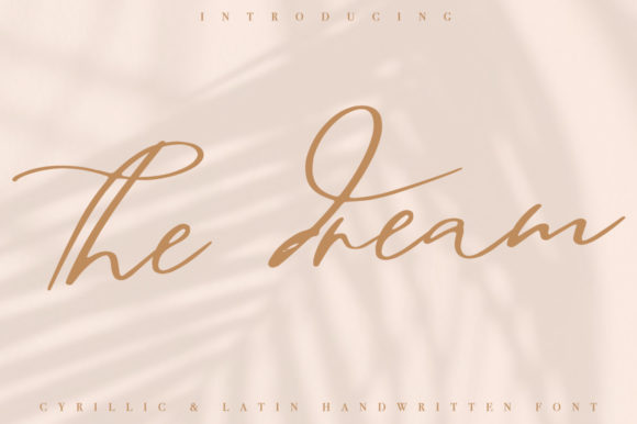 Download Free The Dream Font By Katie Holland Creative Fabrica for Cricut Explore, Silhouette and other cutting machines.