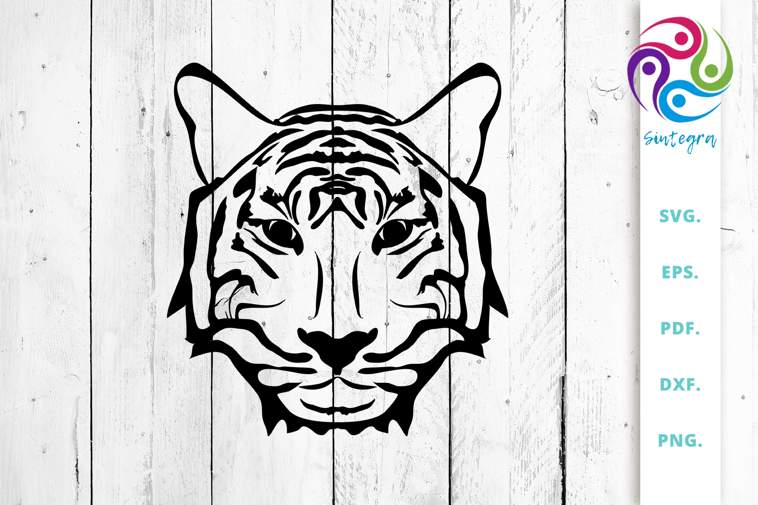 Download Free Tiger Cut File Graphic By Sintegra Creative Fabrica for Cricut Explore, Silhouette and other cutting machines.