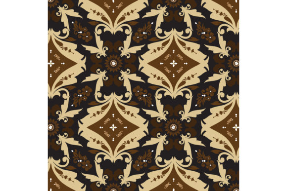 Traditional Batik Graphic Backgrounds By cityvector91
