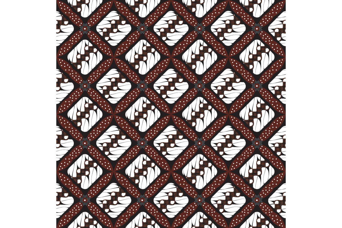 Download Free Unique Javanese Batik Pattern Graphic By Cityvector91 Creative for Cricut Explore, Silhouette and other cutting machines.