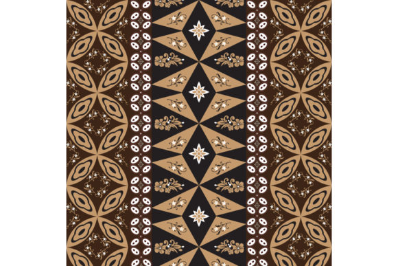 Download Free Unique Motifs Design On Indonesian Batik Graphic By Cityvector91 for Cricut Explore, Silhouette and other cutting machines.