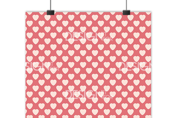 Download Free Valentine S Day Digital Paper Pack Graphic By Designitfor for Cricut Explore, Silhouette and other cutting machines.